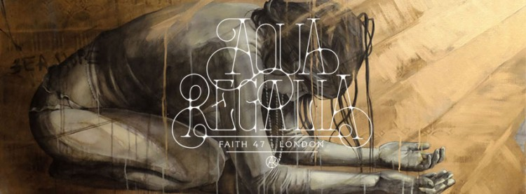 """AQUA REGALIA"", Faith 47's solo exhibition in London"