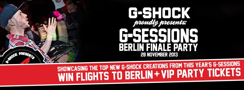 G-SESSIONS - Celebrating 30 years of G-SHOCK all over Europe
