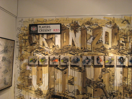 Gallery: Ronzo Solo Show at Stolenspace, Brick Lane