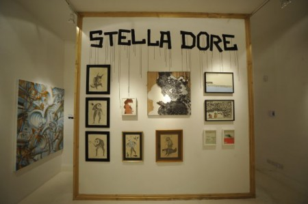 i lib cept wall 450x299 Stella Dore group show – interviews: part 6