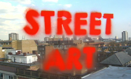 DVD Review: Street Art - Painting the City: London, Paris, Madrid - by Tate Media