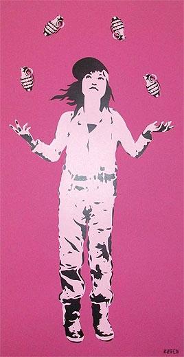 New Hutch 'Juggler' prints at Art Republic