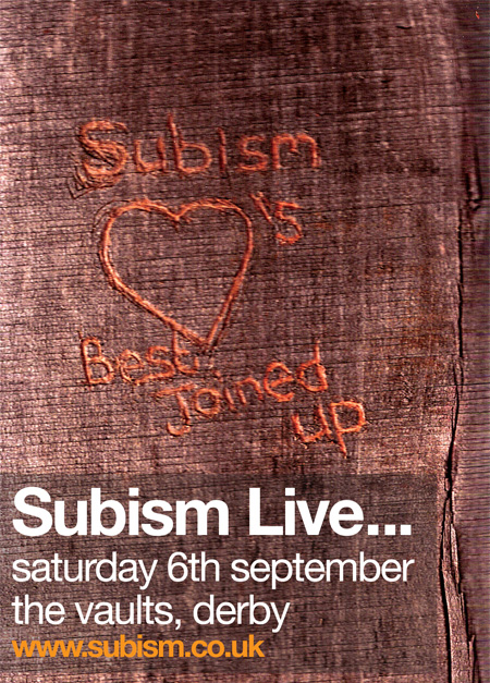 short Subism Live   6th Septmeber 2008