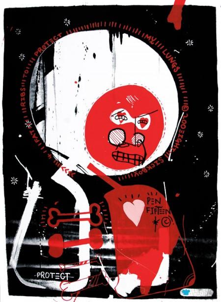 sickboy print from studio cromie red 450x615 New Sickboy print from Studio Cromie
