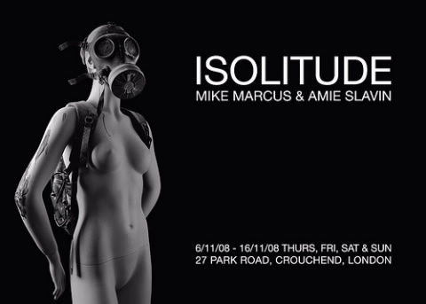 Jealous Gallery presents… ISOLITUDE by Mike Marcus and Amie Slavin