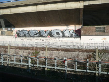 Revok hits the Hammersmith & City