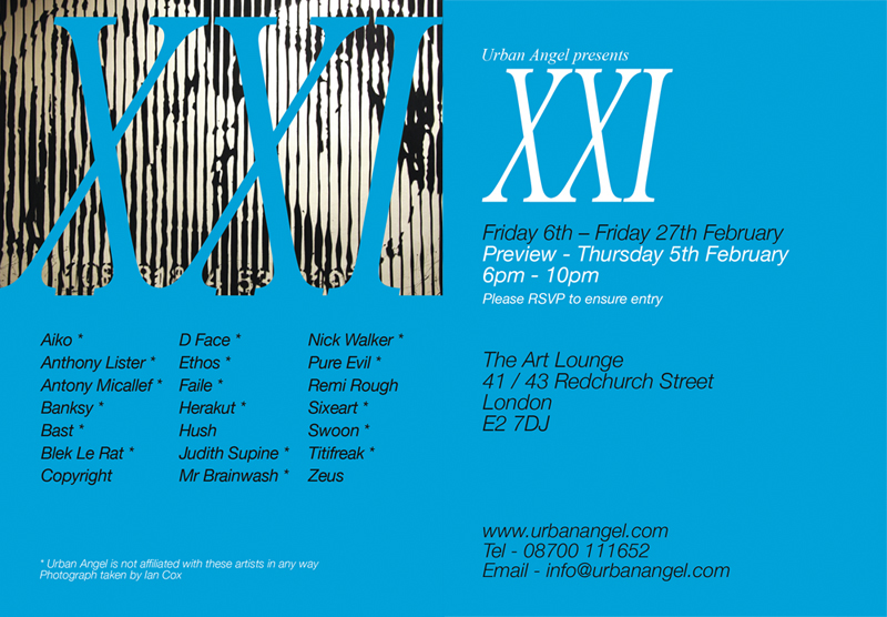 Urban Angel present XXI