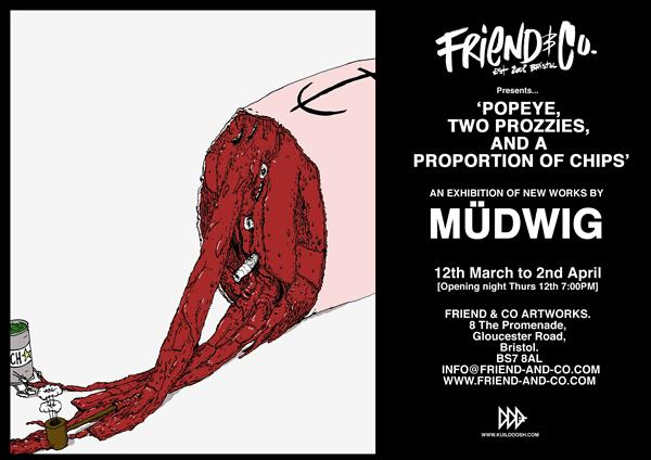 Diary date: March 12, Mudwig at Friend & Co