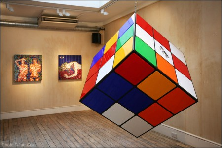 Gallery: Invader at Lazarides Gallery, Rathbone Place