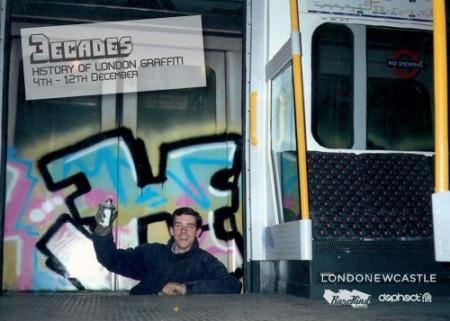 3Decades Flyer1web 500x357 450x321 Rarekind presents 3 Decades of London Graffiti