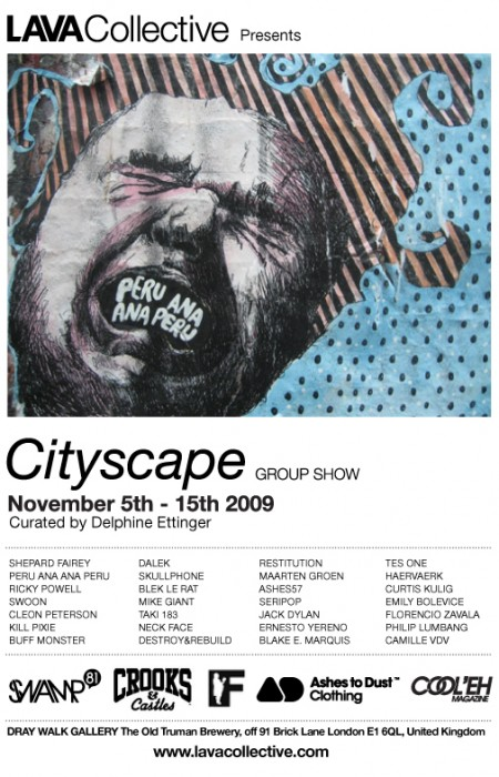 Diary Date: Cityscape Group Show 5th-15th November