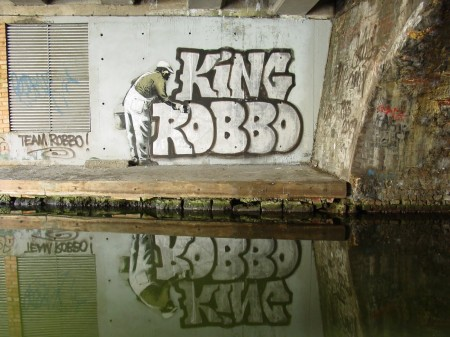 Banksy vs Robbo (WRD We Rock Hard)