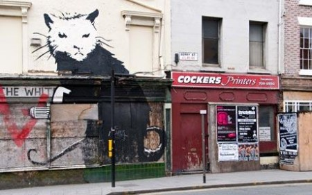Banksy rat painting on property sold, but to be removed by developer