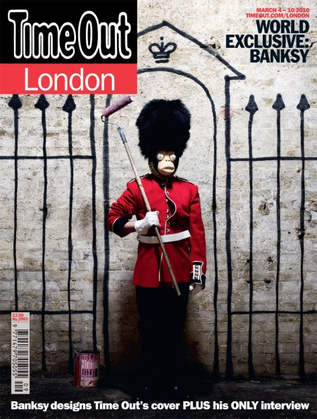 Banksy x Time Out London: interview, cover and online takeover