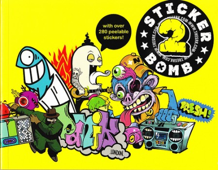 Book review: Stickerbomb 2