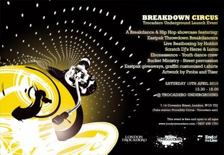 Trocadero Underground Launch this Saturday 10th April