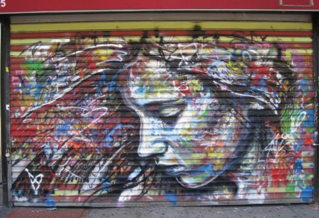 David Walker in New York