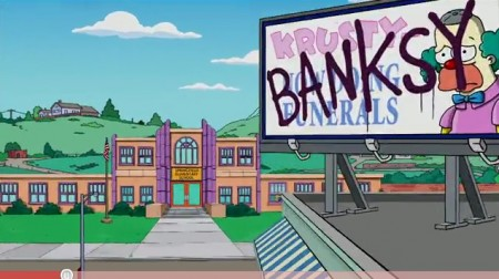 Video: Banksy's opening sequence for The Simpsons