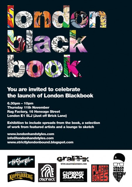 lbb flyer 450x637 London Black Book launch