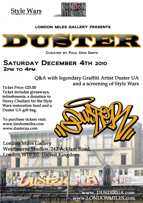 Duster U.A at London Miles Gallery