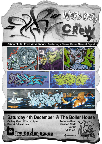MK crew at The Boiler House, Cardiff