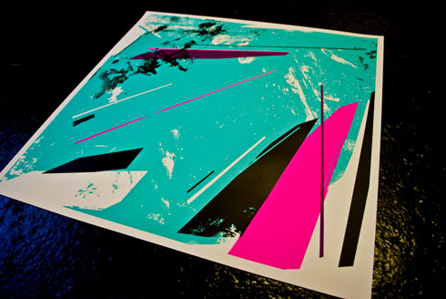 rough Phenomenology 0.1: Remi/Roughs debut screen print