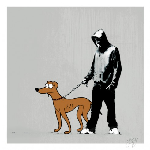 JBoy's take on Banksy for Christmas