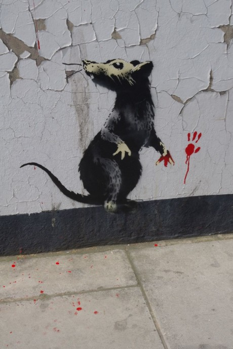 New Banksy in London