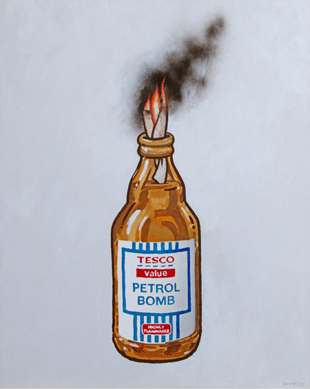 "Banksy – ""Petrol Bomb"" Poster"