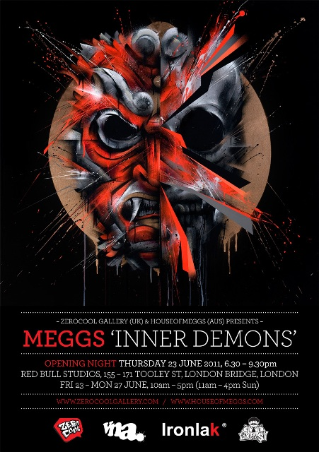 Exhibition: MEGGS solo show at Red Bull Studios