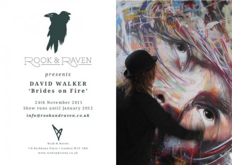 "Exhibition: Rook & Raven presents David Walker's ""Brides of Fire"""