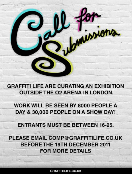 Graffiti Life looking for artists