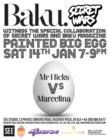Baku Magazine x Secret Wars