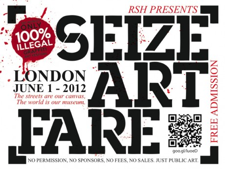 Seize Art Fare - London, June 1st