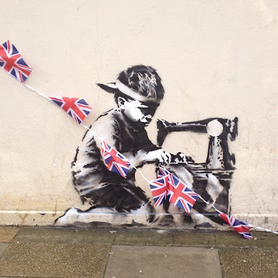 New Banksy in Turnpike Lane, London