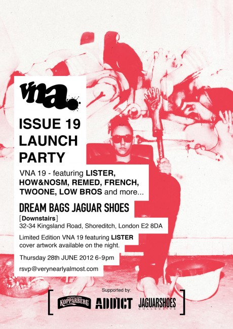 VNA 19 Launch party this Thursday