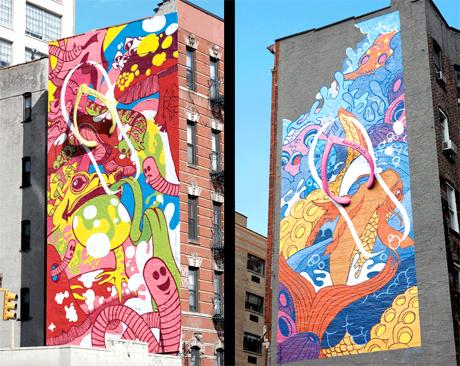 nyc mural MEGAMUNDEN