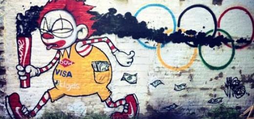 'Clown Town', painted by Mau Mau.