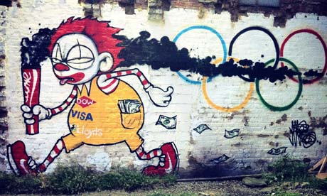 The Olympics vs Street Art and Graffiti