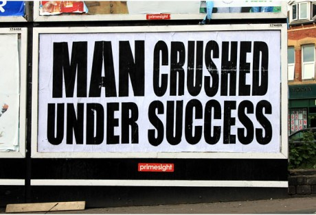 Insect Man Crushed 1 WEB 460x314 Brandalism   24 International artists create the UKs largest subvertising campaign