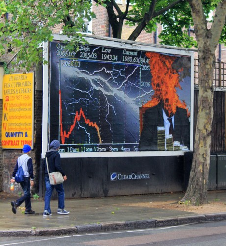 Kennard 2 web 460x502 Brandalism   24 International artists create the UKs largest subvertising campaign