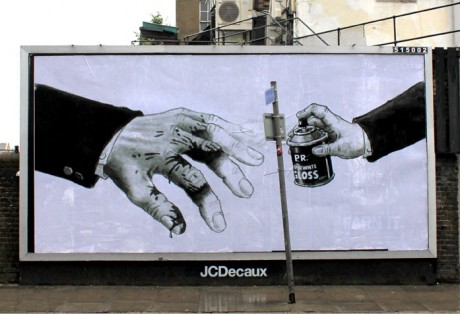 Polyp PR 2 web 460x314 Brandalism   24 International artists create the UKs largest subvertising campaign