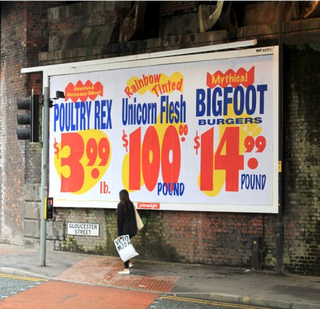 Ron Unicorn 1 WEB 460x445 Brandalism   24 International artists create the UKs largest subvertising campaign