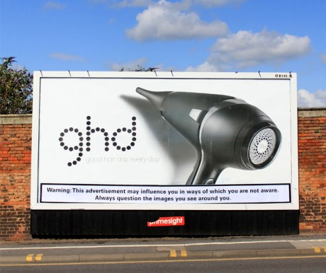 Warning Bristol 11 460x386 Brandalism   24 International artists create the UKs largest subvertising campaign