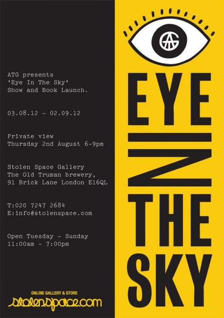 "ATG x Stolen Space presents ""Eye In The Sky"" exhibition"