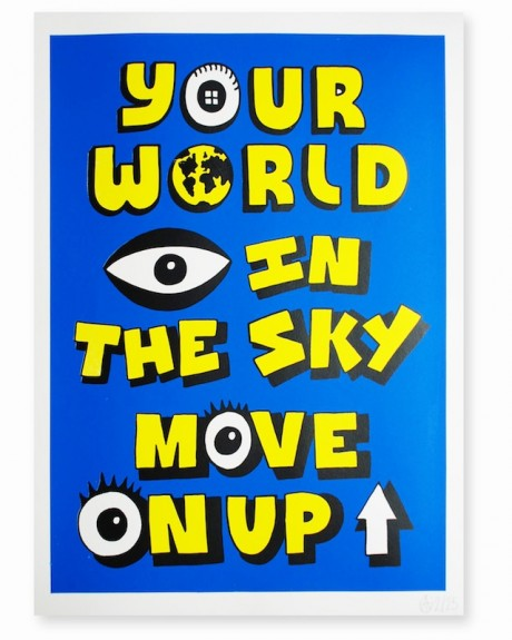 "ATG ""Eye In The Sky"" limited edition book and prints for sale at Stolen Space"