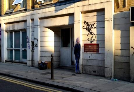 Street Ghosts   Exposing specters of Google Street View in real life Street Art