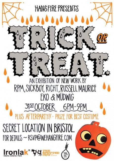 """Trick or Treat"" Exhibition in Bristol"