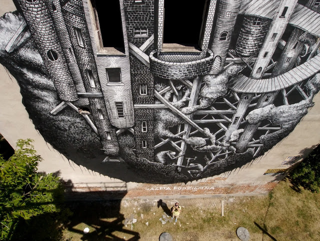New work from Phlegm in Warsaw