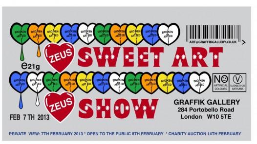 Exhibition   Zeus   Sweet Art Show